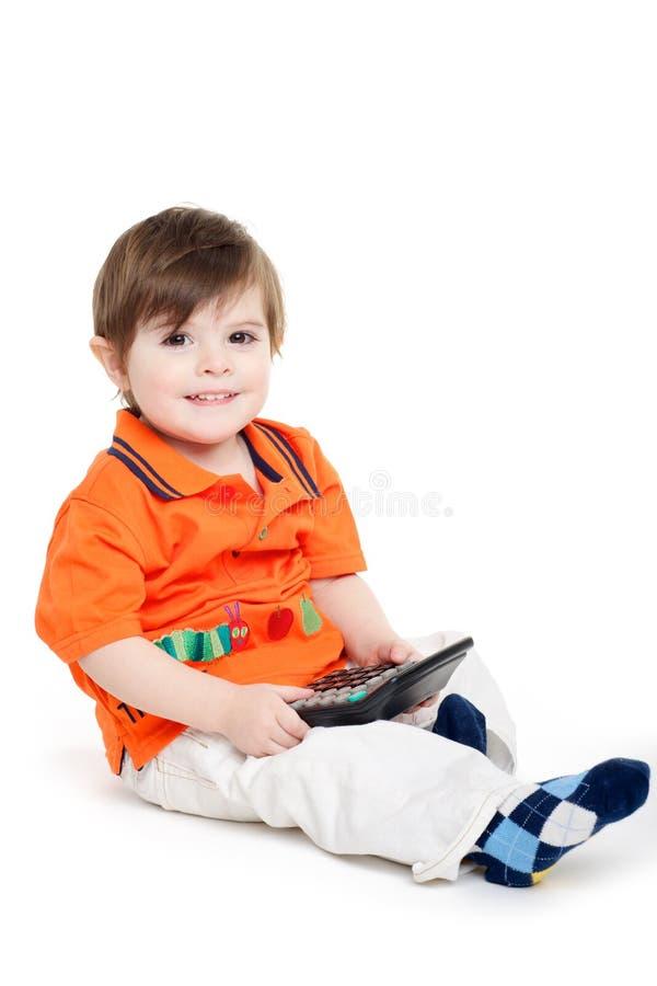 Einfache Berechnung des Kleinkind-Babys lizenzfreies stockfoto