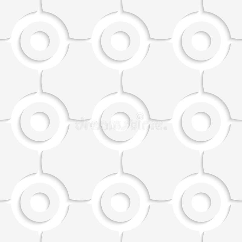 Einfache geometrische runde Formen vektor abbildung