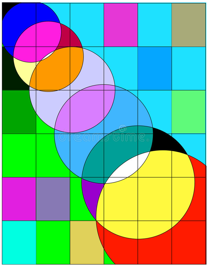 Einfache Grafik design-2 stock abbildung