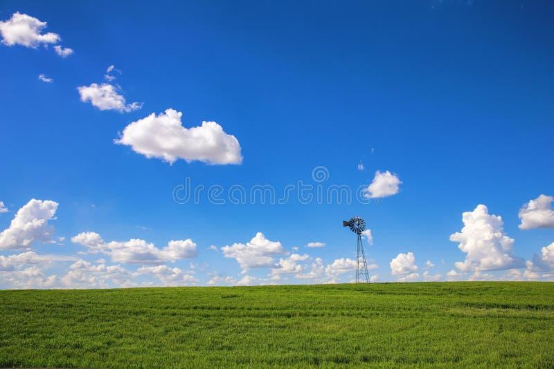 Einfache Landschaft stockfoto