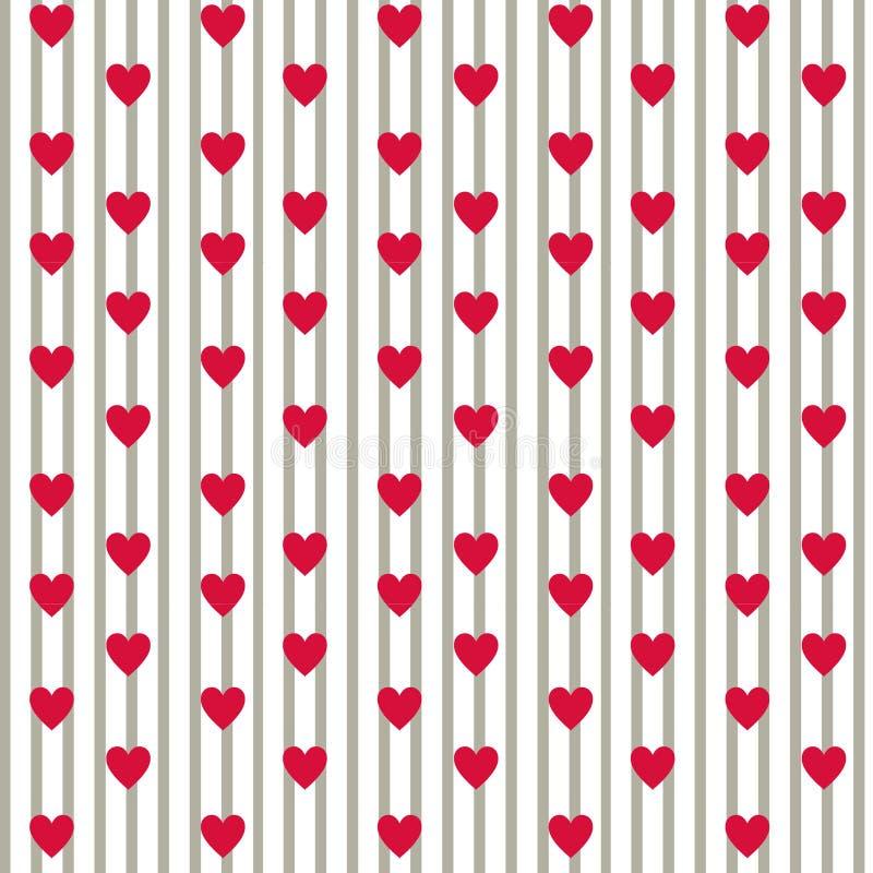 Einfache Liebe Muster stockbilder