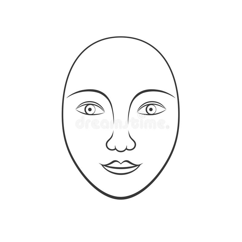 Einfache menschliche Aufhauenkunst vektor abbildung