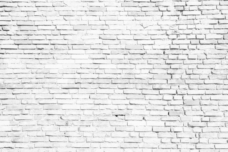 Einfache weiße und graue Backsteinmauer als nahtloser Musterbeschaffenheitshintergrund stockfotografie