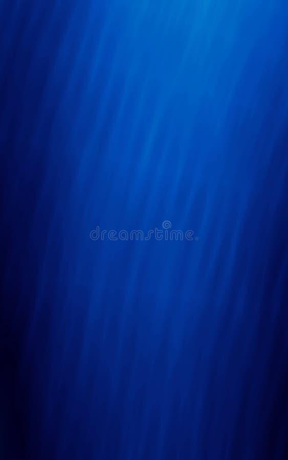 Einfacher blauer Schablonenentwurf des Musters lizenzfreie abbildung