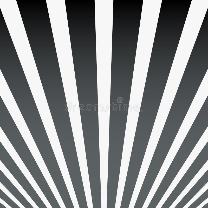 Einfacher gestreifter Kunsthintergrund der Zusammenfassung Abstrakte Ansicht der Vorh?nge Retro- Plakat, Karte, Postkarte, Schabl stock abbildung