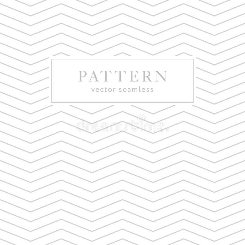 Einfaches geometrisches nahtloses Muster vektor abbildung