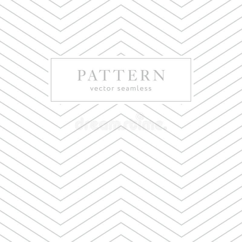 Einfaches geometrisches nahtloses Muster stock abbildung