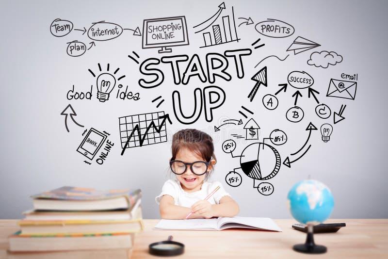 Einfaches Geschäftsplaner-Managementkonzept lizenzfreies stockfoto