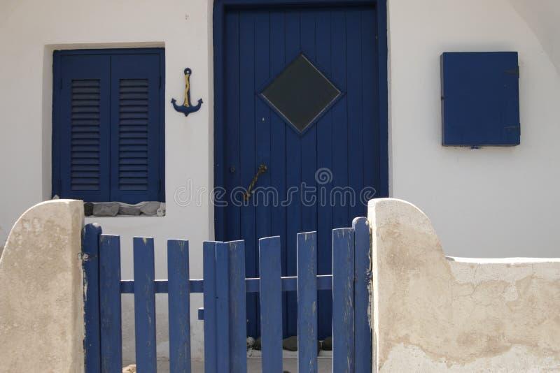 Einfaches privates Haus stockfotografie