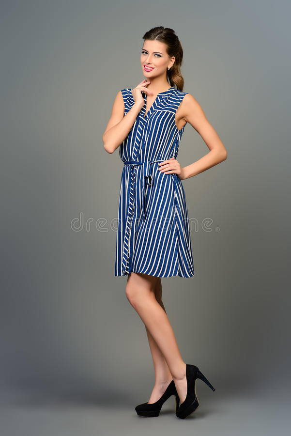 Einfaches Sommerkleid stockfoto