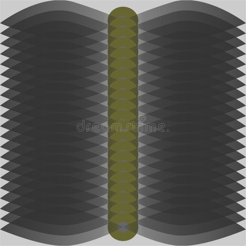 Einfaches Vektormuster stockbild