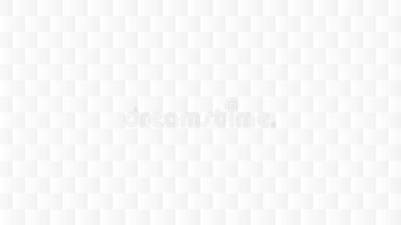 Einfaches weißes Grey Abstract Background lizenzfreie abbildung