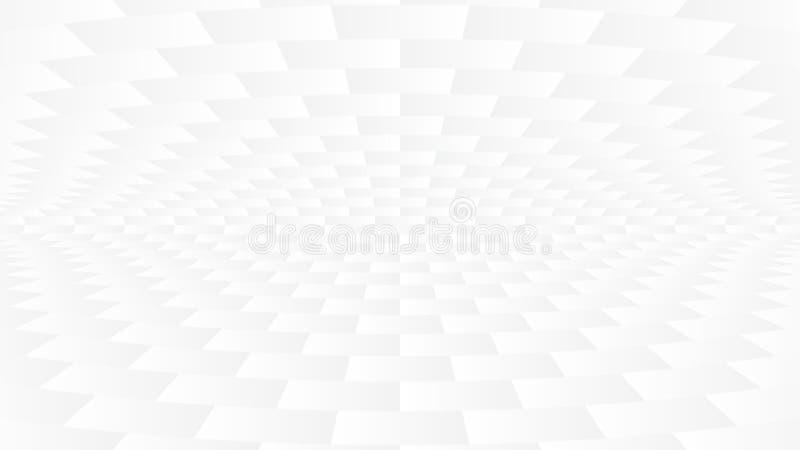 Einfaches weißes Grey Abstract Background stock abbildung