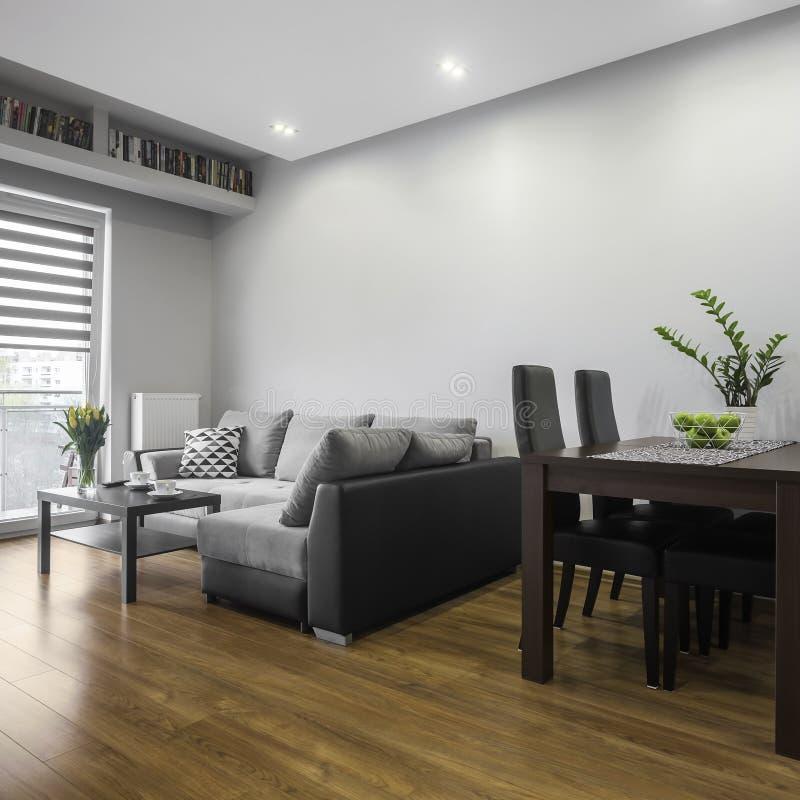 Einfaches Wohnzimmer lizenzfreie stockfotos