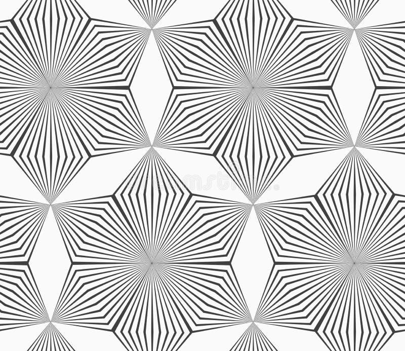 Einfarbige graue gestreifte sechs Pedalrautenblumen lizenzfreie abbildung