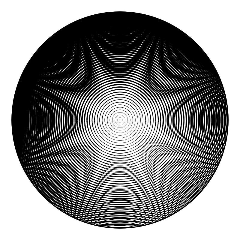 Einfarbiger Illusionshintergrund des Designs lizenzfreie abbildung