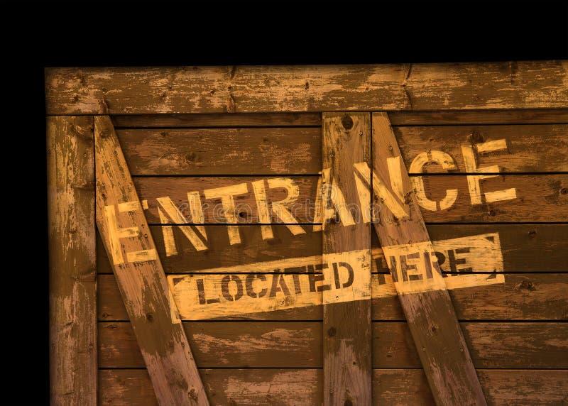 Eingang Lizenzfreies Stockfoto