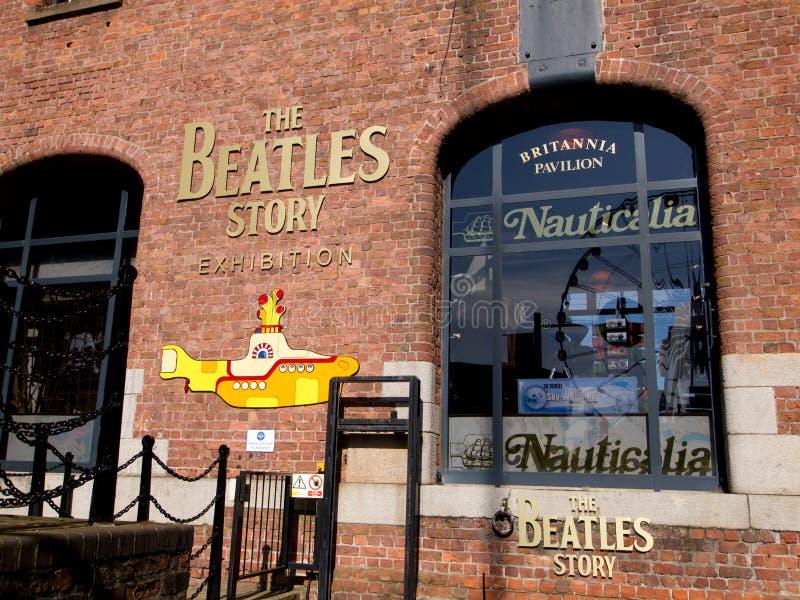 Eingang der Beatles Geschichte lizenzfreies stockfoto