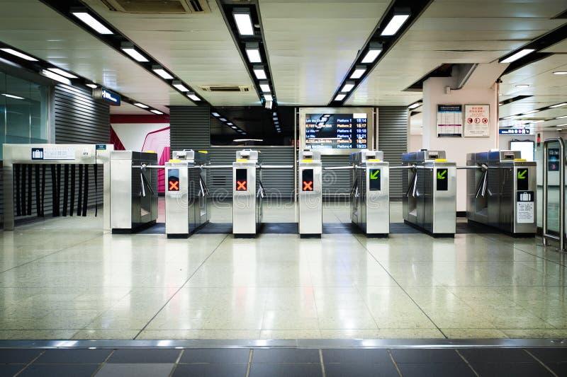 Eingang des Bahnhofs lizenzfreies stockfoto