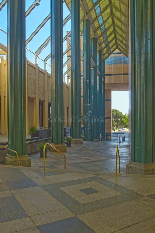 Eingang des Los Angeles County-Kunstmuseums lizenzfreie stockfotografie