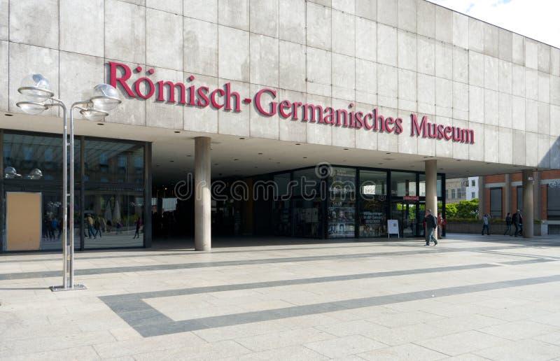 Eingang des Museums stockfotos