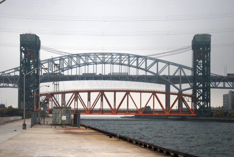 Eingang zu Hamilton Harbour lizenzfreie stockfotos