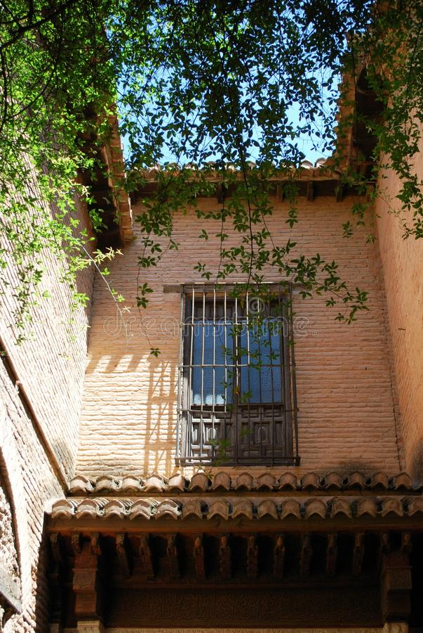Eingang zu Mexuar, Alhambra Palace lizenzfreie stockfotografie