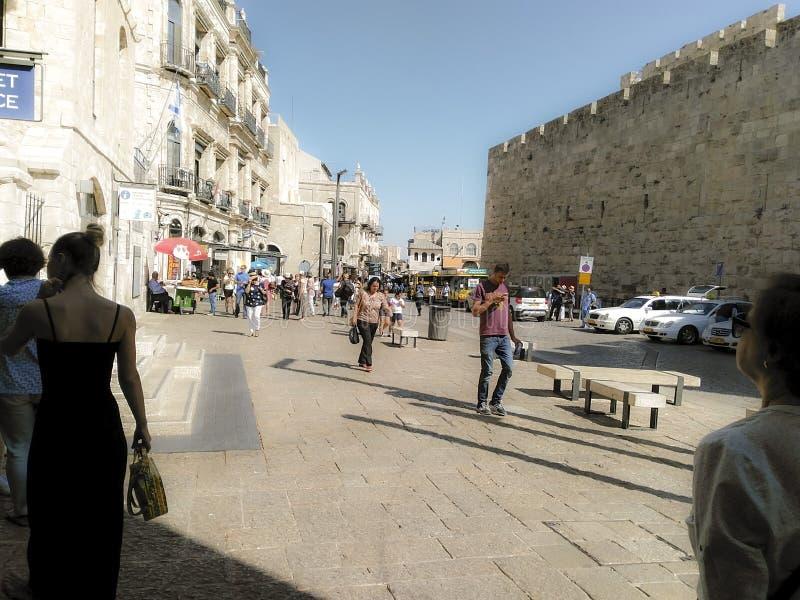 Eingang zur alten Stadt lizenzfreies stockfoto