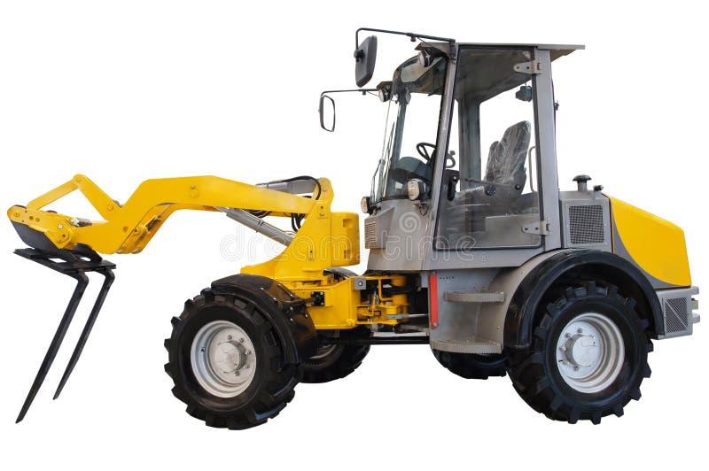 Eingehängter Traktor lizenzfreies stockbild