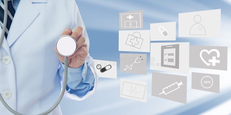 Eingeladen zum jährlichen Gesundheits-Check lizenzfreie stockfotos