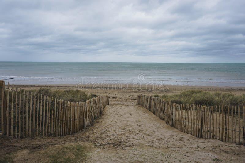Eingelassen der Normandie von Frankreich lizenzfreie stockfotografie