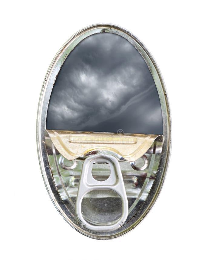 Eingemachter Himmel lizenzfreies stockfoto