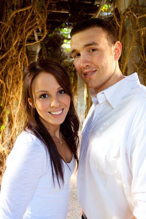 Eingerückte Paare lizenzfreie stockfotos