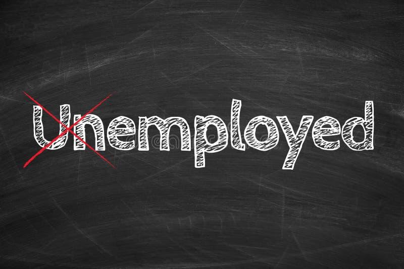 Eingesetztes nicht arbeitsloses lizenzfreie stockfotos
