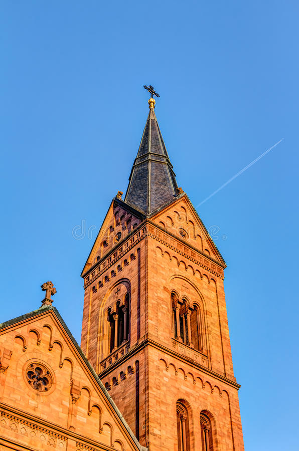 Einhard bazylika w Seligenstadt obrazy royalty free