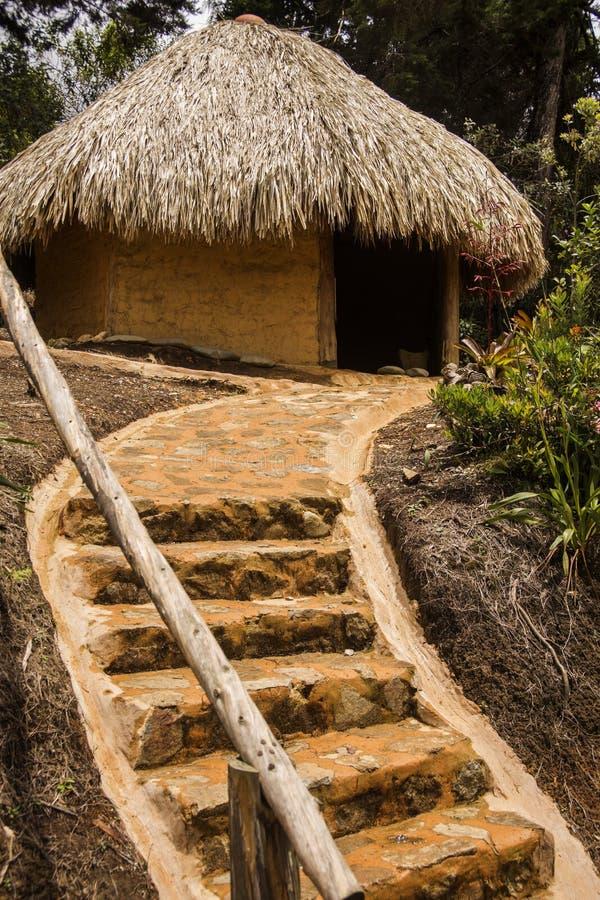 Einheimische Hütte lizenzfreie stockfotografie