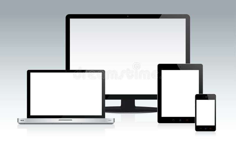 Einheit-Set lizenzfreie abbildung
