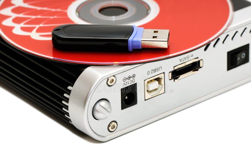 Einheiten für Speicherung der Informationen lizenzfreie stockfotos
