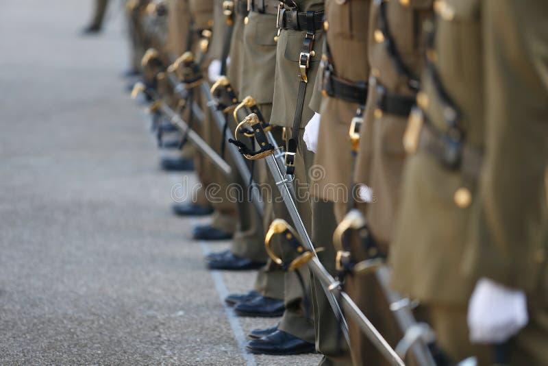 Einheitliches Sonderkommando der spanischen Armee stockfoto