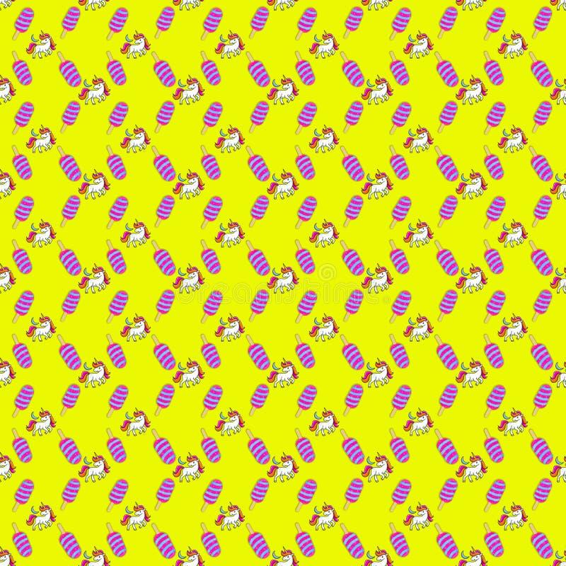 EinhornEiscreme vektor abbildung