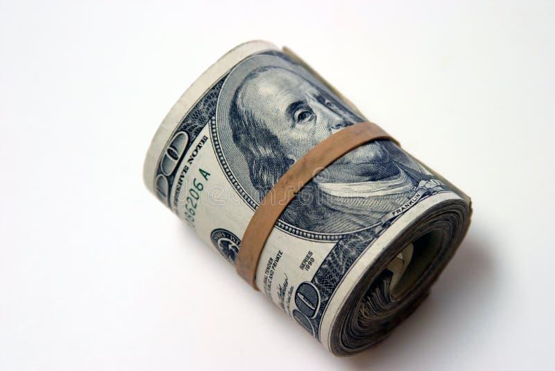 Download Einige Dollars #1 stockfoto. Bild von getrennt, dollar, gummi - 49654