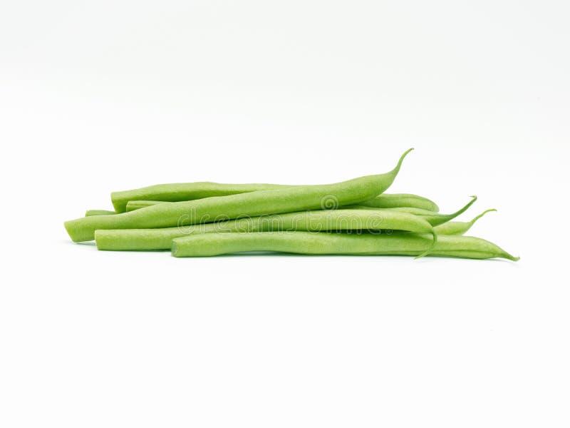 Einige grüne Bohnen lizenzfreie stockbilder
