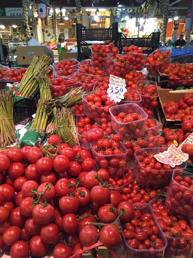 Einige Tomatenarten lizenzfreies stockfoto