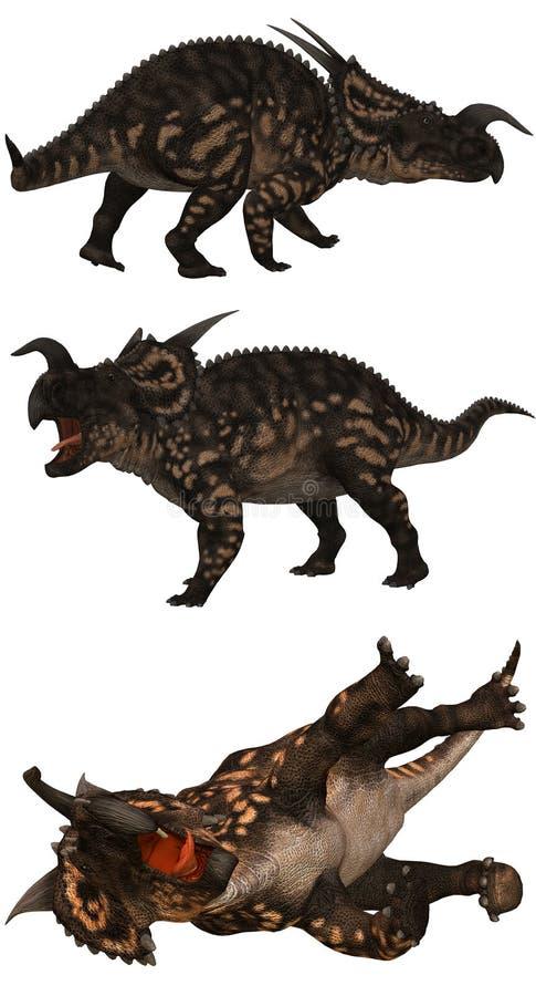 Einiosaurus ilustração stock