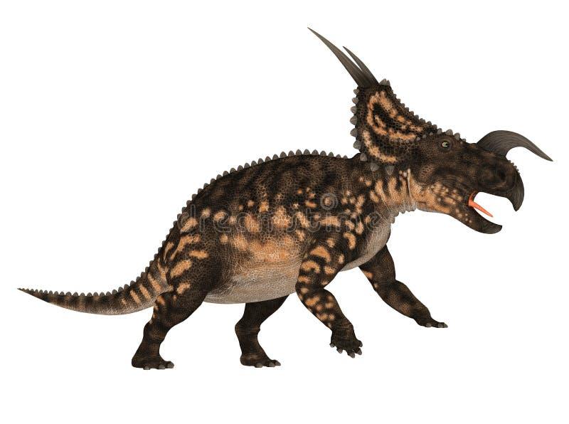 Einiosaurus ilustração do vetor