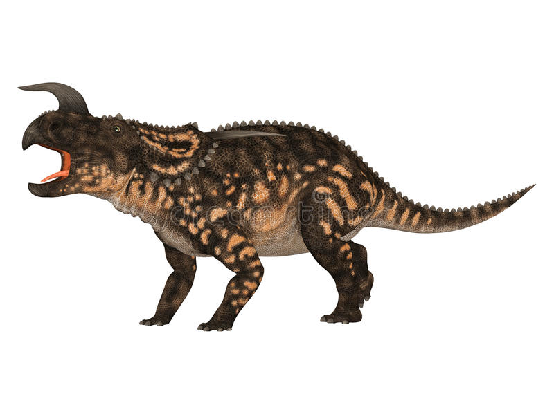 Einiosaurus ilustração royalty free