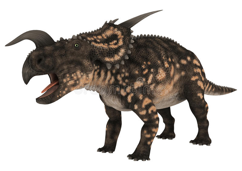 Einiosaurus de dinosaure illustration libre de droits