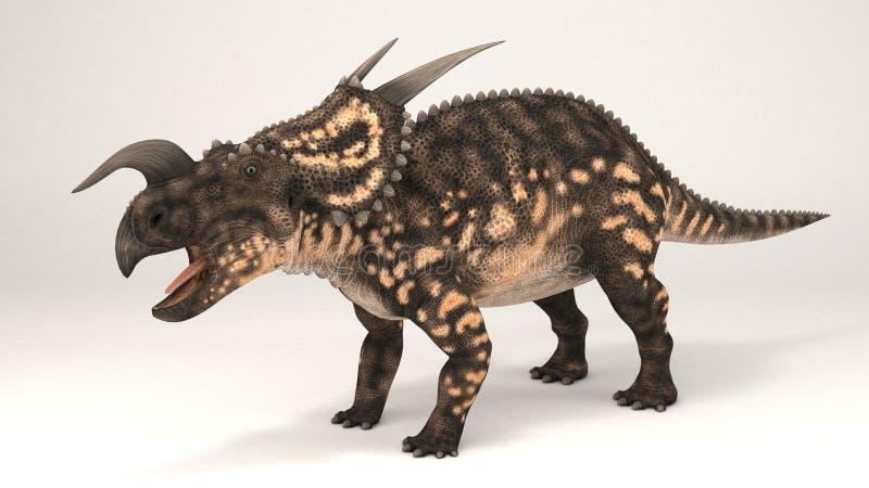 Einiosaurus-dinosaure illustration de vecteur