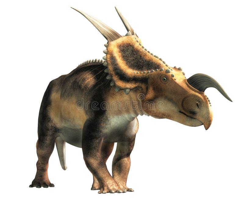 Einiosaurus stock illustratie