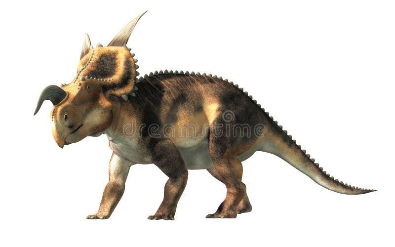 Einiosaurus vector illustratie